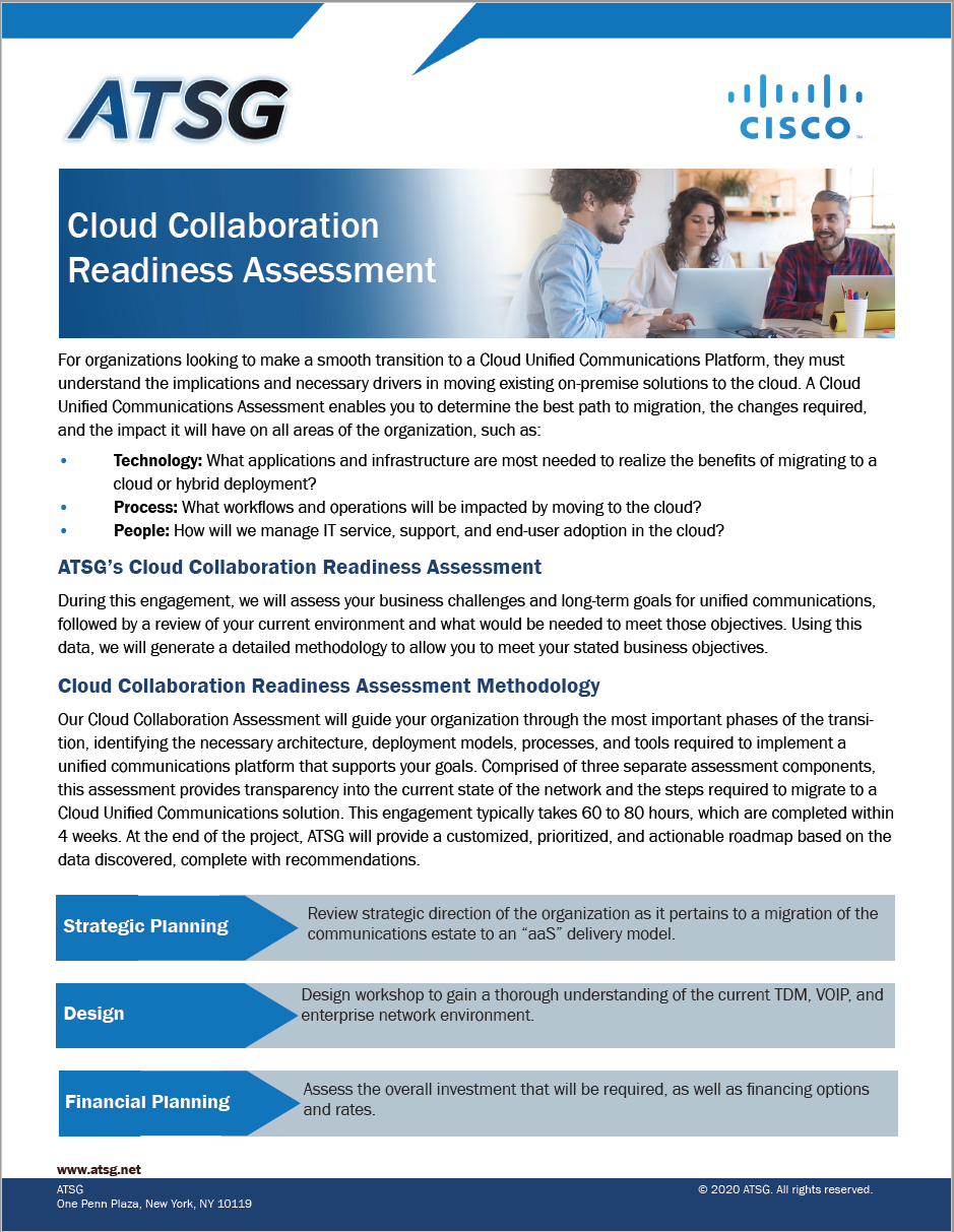 Cloud Collaboration Readiness Assessment thumbnail