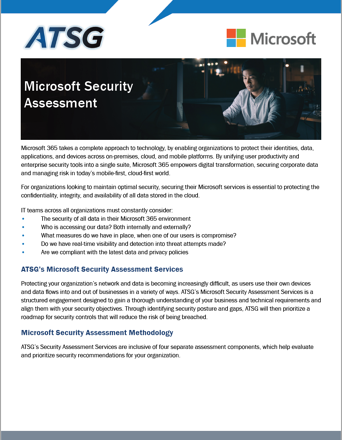 Microsoft Security Assessment thumbnail