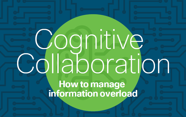 Cognitive Collaboration infographic AI